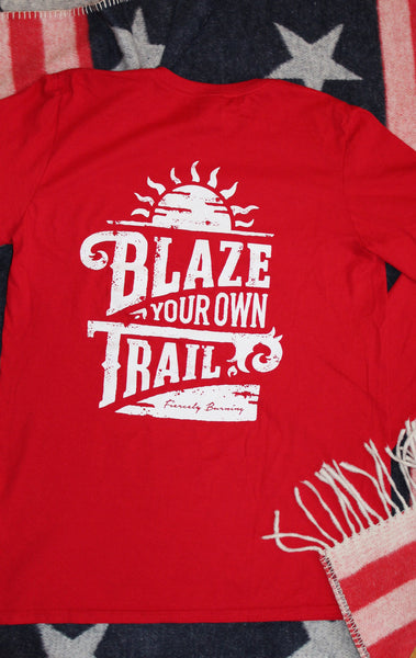 Blaze Your Own Trail Back