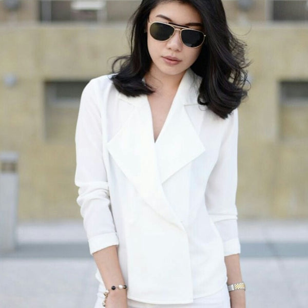 Trench Blouse