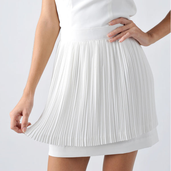 Pleat Pleat Skirt