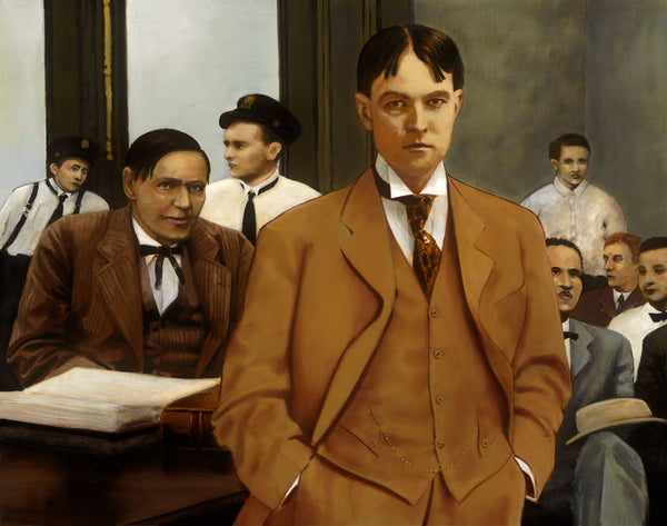 Earl Rogers Defends Clarence Darrow. Los Angeles. 1912