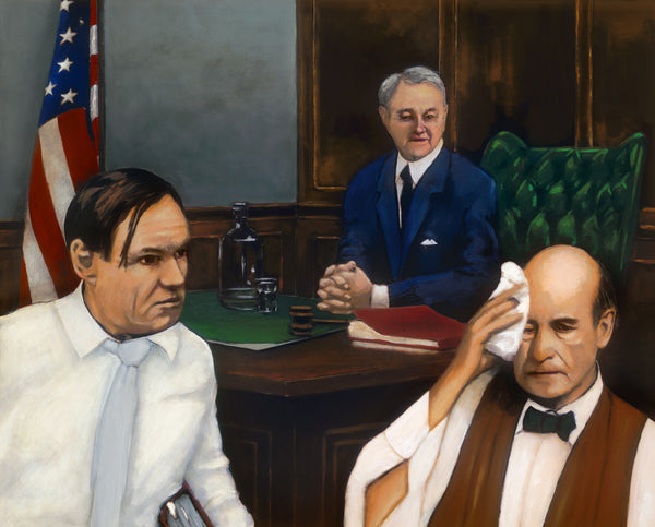 Monkey Scopes Trial by artist Trevor Goring