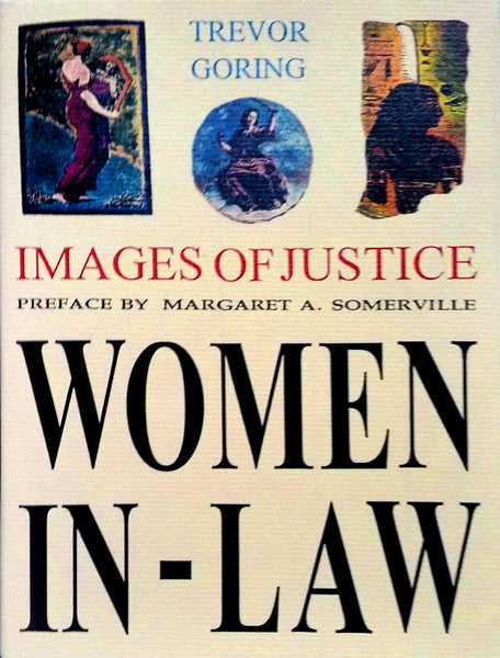 Women In Law handmade book by artist Trevor Goring