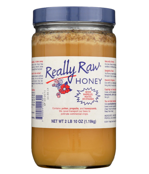 Really Raw Honey - Unheated Unstrained - 1 Each - 42 oz.