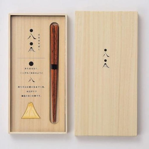 Chopstick in a Hinoki gift box (Mt. Fuji motif) - Urban Treehouse