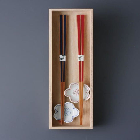Chopstick With Rest (Set Of 2) - Chopstick