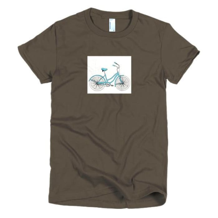 Doing My Best Bicycle - Sarah's women's t-shirt - Urban Treehouse