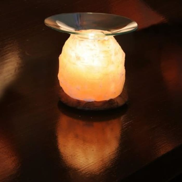 HIMALAYAN AROMA SALT LIGHT - AMBER - Urban Treehouse