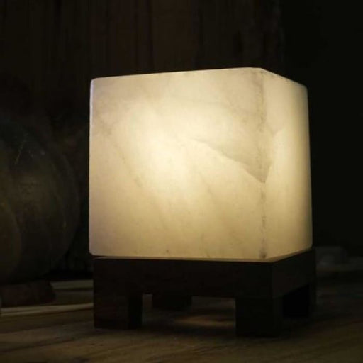 HIMALAYAN CUBE SALT LIGHT - WHITE - Urban Treehouse