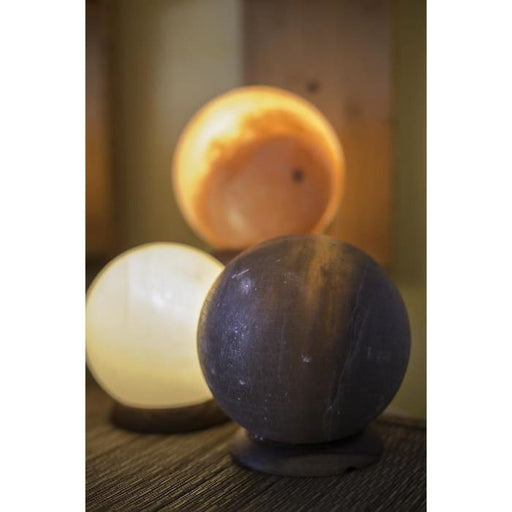 HIMALAYAN GLOBE SALT LIGHT - GREY - Urban Treehouse