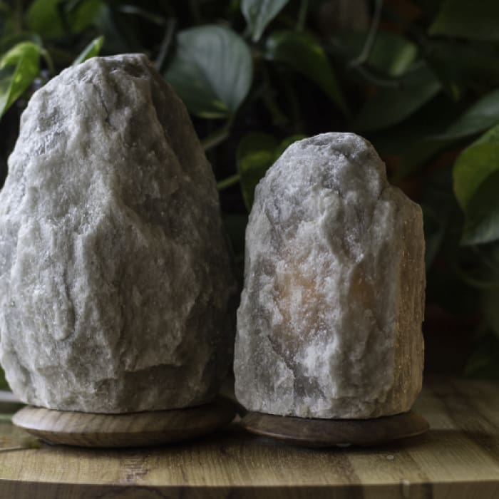 HIMALAYAN GREY SALT LIGHT SET - RARE - Urban Treehouse