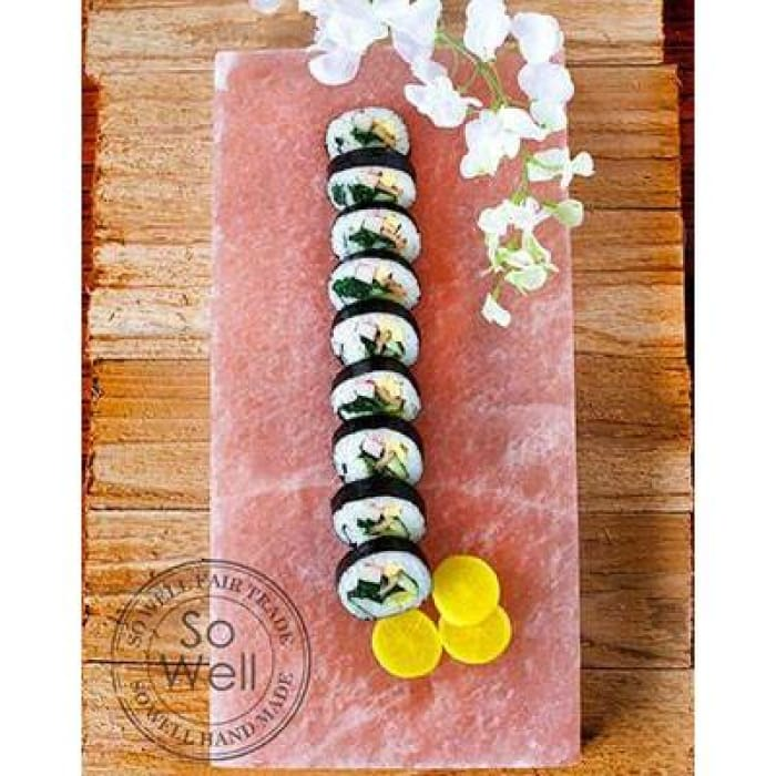 Himalayan Salt Platter- Cooking & Serving - 8 X 12 - Kitchen