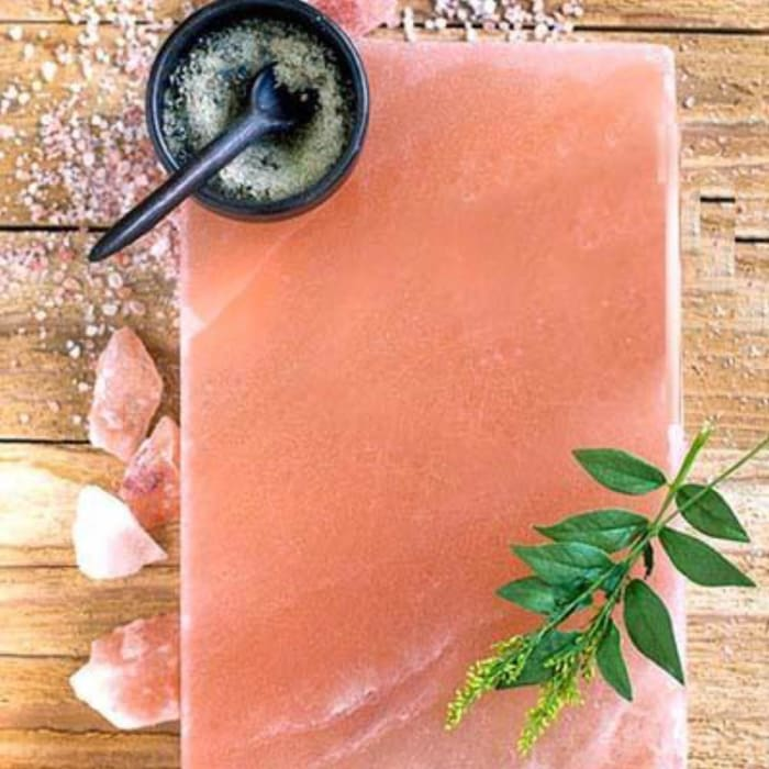 HIMALAYAN SALT PLATTER- COOKING & SERVING - 8″ X 12″ - Urban Treehouse