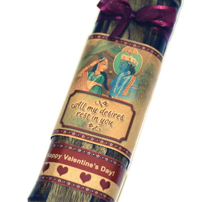 Incense Gift Set - Bamboo Burner + 2 Harmony And 1 Chakra Incense Packs For Relaxation & Love Greeting - Rest In You