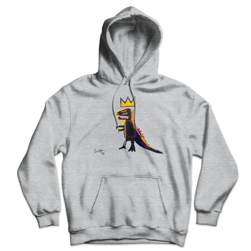 Jean-Michel Basquiat Pez Dispenser (Dinosaur) 1984 Artwork Unisex Hoodie