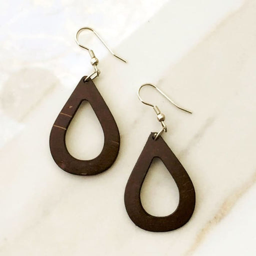 Open Tear Drop Earrings - Women - Jewelry - Earrings