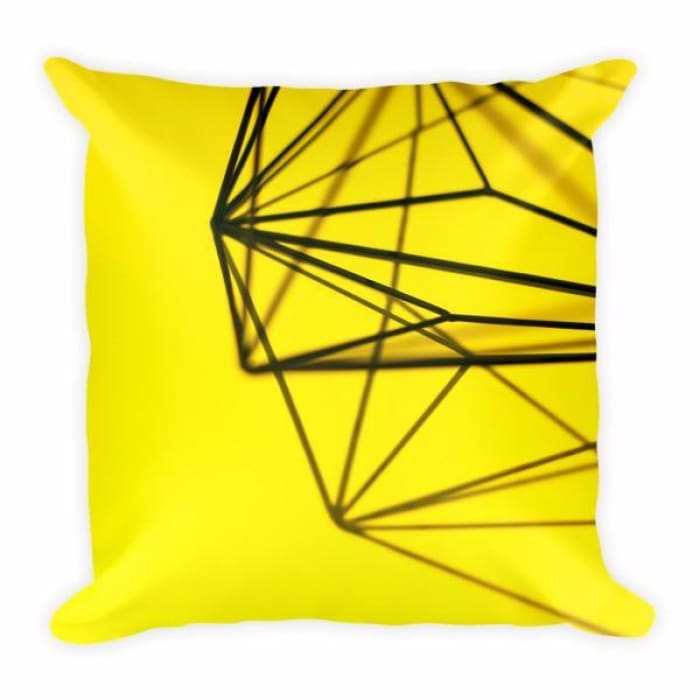 Pillow Yellow - Urban Treehouse