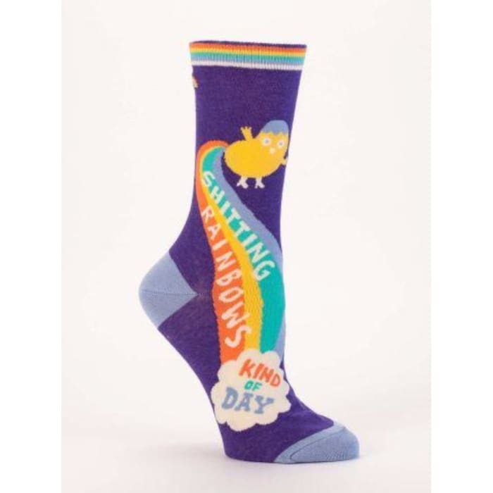 Shitting Rainbows Kind Of Day Women's Socks - Urban Treehouse