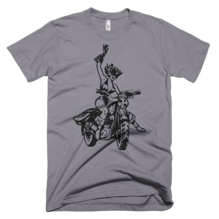 Short sleeve men's t-shirt Black Cat - Urban Treehouse