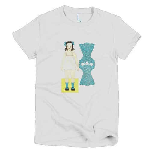 Short sleeve women's t-shirt Paper Doll - Urban Treehouse