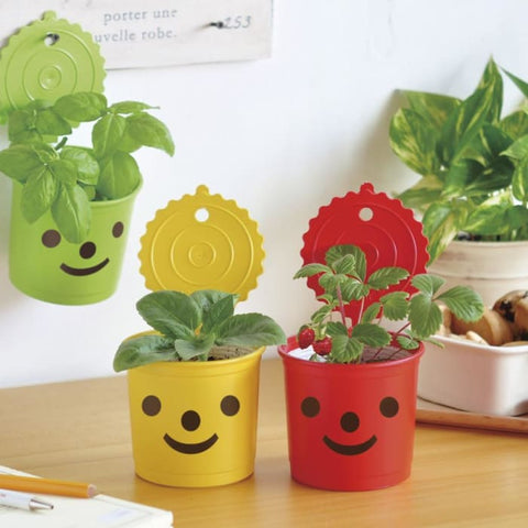 Smile & Smile- 3 Styles (Green Red Yellow) - Gardening