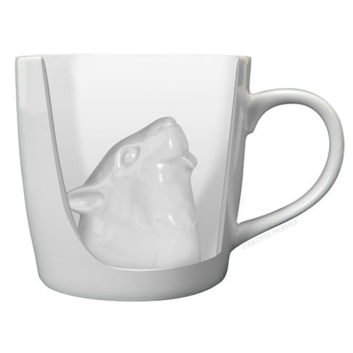 SQUIRREL ATTACK PORCELAIN MUG - Urban Treehouse