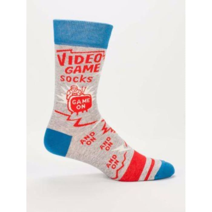 Video Game Mens Socks - Apparel & Accessories