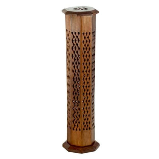 Wooden Incense Burner Tower - Decorative - Urban Treehouse