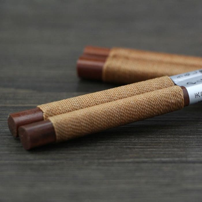Wooden Luxury Chopsticks Long Brown - Urban Treehouse