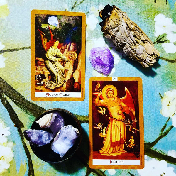 Daily Tarot Read Draw Two Card General Spread