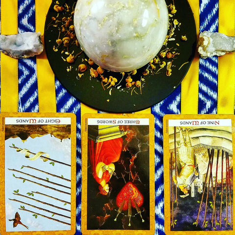 crystal ball tarot spread