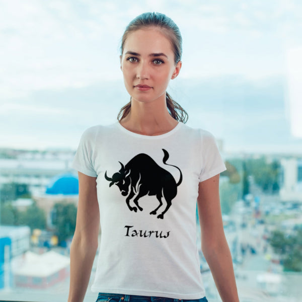 Taurus Zodiac Sign Tshirt - L&G Gifts and Goodies