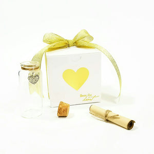 "Teddy Bear Message in a Bottle Personalized Keepsake ""An Entrapment"" - L&G Gifts and Goodies"