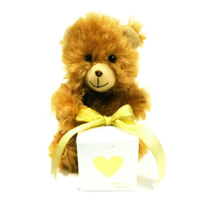 "Teddy Bear Message in a Bottle Personalized Keepsake ""I LOVE YOU"" - L&G Gifts and Goodies"