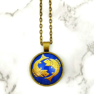 Pisces Zodiac Necklace - L&G Gifts and Goodies