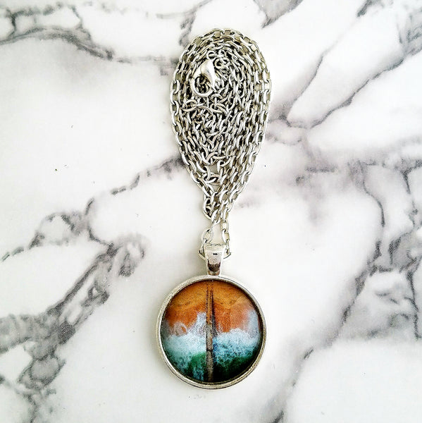 Ocean Meets Land Necklace - L&G Gifts and Goodies