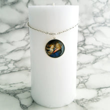 Madonna of the Book Necklace - L&G Gifts and Goodies