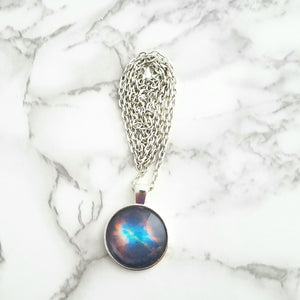 Helix Nebula Galaxy Necklace - L&G Gifts and Goodies