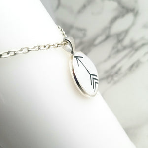 Black Arrow Necklace - L&G Gifts and Goodies