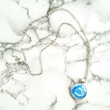 Geode Blue Necklace - L&G Gifts and Goodies