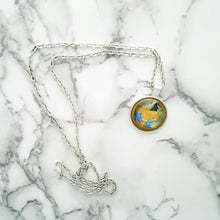 Blue and Gold Renaissance Necklace - L&G Gifts and Goodies