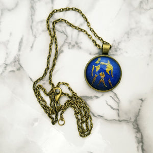 Gemini Zodiac Necklace - L&G Gifts and Goodies