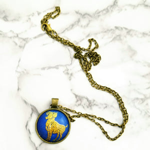 Aries Zodiac Necklace - L&G Gifts and Goodies