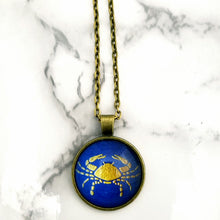 Cancer Zodiac Necklace - L&G Gifts and Goodies