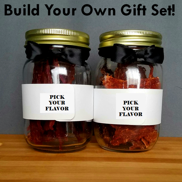 Build Your Own Beef Jerky Gift Set of 2 - L&G Gifts and Goodies