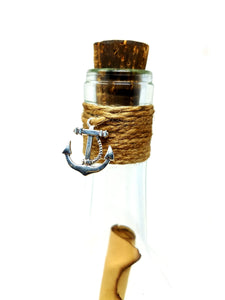 I love you message in a bottle, Poem Gift - L&G Gifts and Goodies