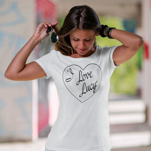 I Love Lucy Tshirt - L&G Gifts and Goodies