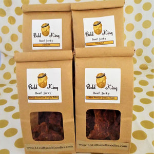 Deliciously Deluxe Coffee and Beef Jerky Gift Set - L&G Gifts and Goodies