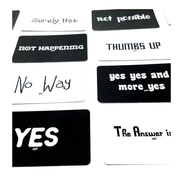 All the Answers Yes No Maybe Deck - L&G Gifts and Goodies