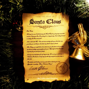 Personalized Santa Claus Letter - L&G Gifts and Goodies