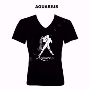 Aquarius Zodiac Sign Tshirt - L&G Gifts and Goodies